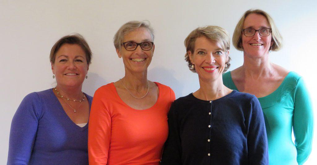 Vrolijk & Frans: Annelies Haverkort, Alike Last, Hilde-Marie Kok, May Van de Broek